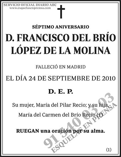 Francisco del Brío López de la Molina